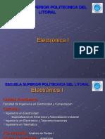 Dispositivos de Dos Terminales y Optoelectronica