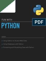 Fun with Python