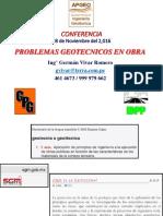 5.- Problemas Geotecnicos en Obra Vivar APGEO