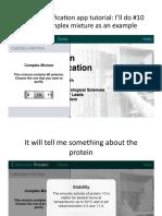 Purification App Tutorial