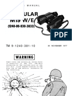 TM-9-1240-381-10 Binocular M19 W/E Operators Manual