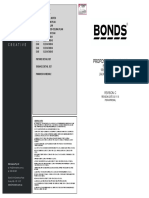 BONDS Advertised Plans