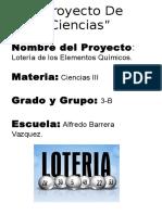 LOTERIA DE ELEMENTOS