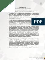 Ue Informe Sobre Negociaciones Formato