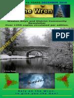 December 2016 Wren Online Edition