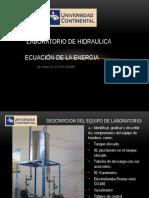 Laboratorio Ecuacion de La Energia