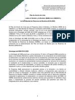 Plan de acción de Lima 2016-2025 MAB