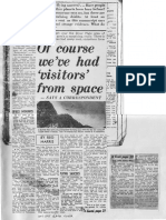 UFO Related Articles in Australian (NSW) Newspapers (1962 to 1965)