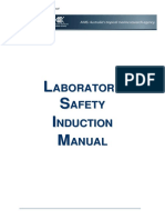 Lab Safety Induction Manual 2014