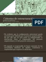 1.5. Criterios de Estructuración