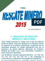 Capacitacion Rescate Minero 23-06-15