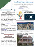 Carrabelle Chamber of Commerce E-Newsletter for November 25th