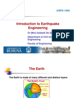 Introduction to Earthquake