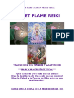 Manual Reiki Violet Flame