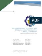 Pertumbuhan Kota Yogyakarta yang Dipengaruhi oleh Pertumbuhan Jaringan Jalan