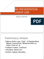 Case Law Presentation
