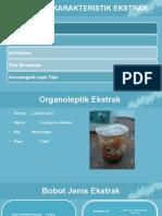 Ppt Parameter Ekstrak