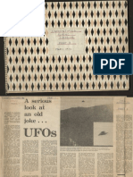 UFO Related Articles in Australian (NSW) Newspapers (1968 to 1973)
