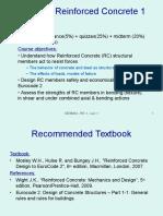 Lec 1 Introduction to Reinforced Concrete Design