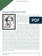 Arendt, Hannah _ Internet Encyclopedia of Philosophy