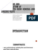 Qualitative Tests for Carbohydrates