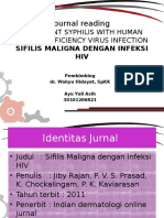 Presentasi Jurnal Sifilis Maligna Dengan HIV_Ayu Yuli Asih