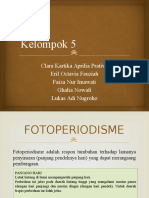 Kelompok 5 fotoperiodisme