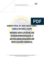 Directiva Redes 2016 Final