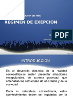Regimenes de Exepcion