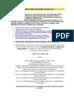 Manual Para Valorar en Bolsa