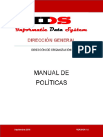 Manual de Poiticas