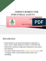 Auiotonomous Robots Ppt