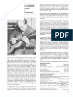 Summerfield, Maurice - Villa-lobos Excerpt (the Classical Guitar 3rd Edition 92)