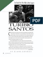 Gordon, Diane - Turibio Santos Bearing the Torch for Villa-lobos Legacy (Gp May 89)