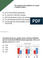 Practice Problems for Ksp - Chemistry