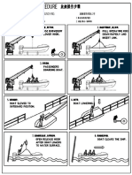 Single Arm Davit Launching Procedure