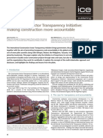 Construction Sector Transparency