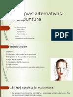 Ppt Terapias Alternativas- Acupuntura Editado