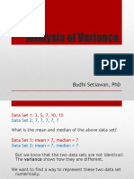 11 Analysis of Variance