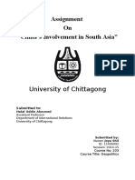 China's Involvement in South Asia