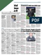 TuttoSport 27-11-2016 - Calcio Lega Pro