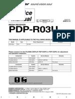 Pioneer Pdpr03u Plasma Receiver
