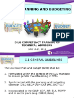 5 GAD Planning and Budgeting_JMC 2013