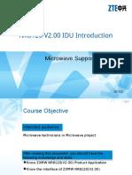 Microwave BC en NR8120 V2.00 IDU Introduction