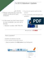 Advicent Morningstar Webinar August 2015
