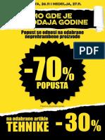 Rasprodaja Plakat A4 25