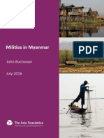 Militias in Myanmar, English