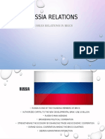 Russia Relations