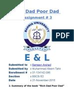 ALEEM Assignment 3 E &L