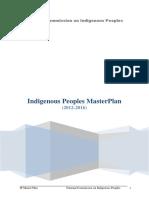 Indigenous Peoples Master Plan 2012 2016